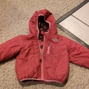 The North Face Reversible Jacket Pink 2T